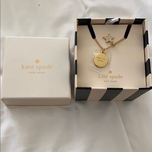 "Kate Spade Necklace ""born to shine""/ star"